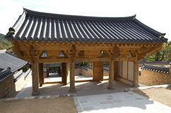 Korean Buddhism temple Stock Image
