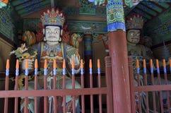 Korean Buddhism temple buddha royalty free stock photography