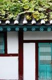 Korean building. Stock Photos
