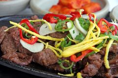 Korean bulgogi Royalty Free Stock Photos