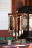 Korean Calligraphy and Sumi-e Art Brushes Royalty Free Stock Photos