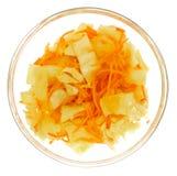 Korean carrot Royalty Free Stock Images