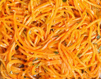 Korean carrot Stock Photo