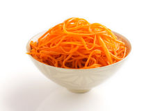 Korean carrot. Stock Photo