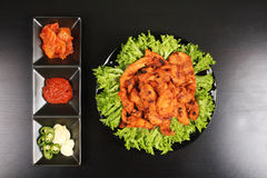 Korean chicken barbeque dish - Series 4 Royalty Free Stock Image