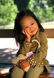Korean child Royalty Free Stock Image