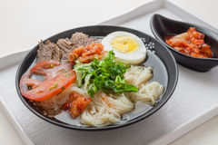 Korean Cold Noodle Royalty Free Stock Images