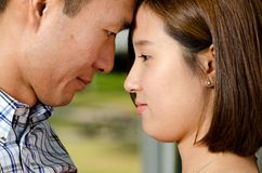 Korean couple Stock Photo