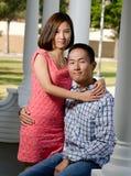 Korean couple Stock Photo