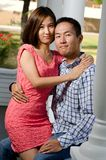 Korean couple Royalty Free Stock Photos