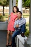 Korean couple Stock Photos