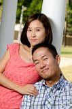 Korean couple Royalty Free Stock Photography