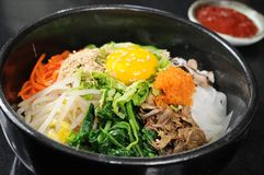 Korean cuisine stock photo