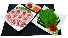 Korean cuisine Royalty Free Stock Photos