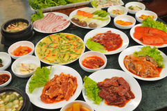Korean cuisine Royalty Free Stock Photography