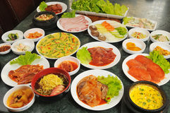 Korean cuisine Royalty Free Stock Image