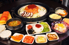 Korean cuisine Royalty Free Stock Photo