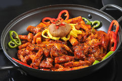 Korean Cuisine Stock Photo
