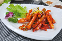 Korean cuisine Royalty Free Stock Images