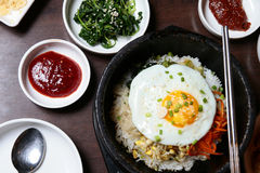 Korean cuisine Royalty Free Stock Photos
