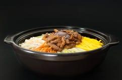 Korean cuisine, beef  Bibimbap Stock Image