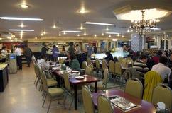 Korean cuisine buffet restaurant stock images