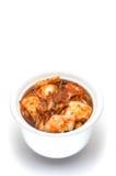 Korean cuisine, fermented food Kimchi royalty free stock photo