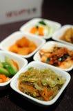 Korean cuisine side dishes Stock Image