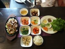 Korean cuisine! Stock Photography