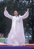 Korean Dancer Royalty Free Stock Images
