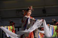 Korean dancers Stock Photo