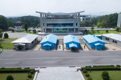 Korean Demilitarized Zone (DMZ), Joint Security Area Stock Images
