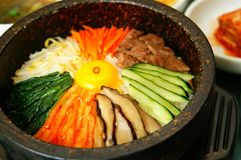 Korean Dish royalty free stock photos