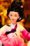 Korean Doll. Korean tradional doll culture dress Royalty Free Stock Photo