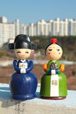 Korean Dolls Stock Photography