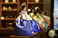 Korean Dolls Royalty Free Stock Photo