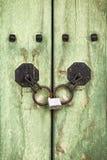 Korean Door Detail Stock Images