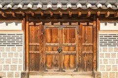 Korean Doors royalty free stock photos