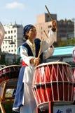 Korean Drum Festival. South Korean women performs at the Korean Drum Festival in Seoul Stock Photography