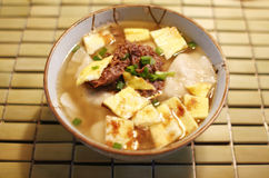 Korean dumpling soup Stock Photography