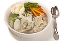 Korean Dumpling Soup Royalty Free Stock Images