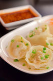 Korean Dumplings Royalty Free Stock Photo