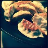 Korean dumplings Stock Photos