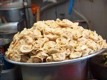 Korean Dumplings - Mandu. Korean dumplings known as Mandu Royalty Free Stock Photo