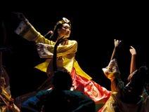Korean ethnic dance Stock Photos