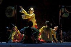 Korean ethnic dance Royalty Free Stock Photography