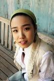 Korean face Stock Image