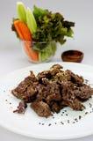 Korean famous dish Bulgogi. Korean Food Royalty Free Stock Photo