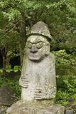 Korean Fertility Statue stock image