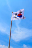 Korean Flag Stock Photography
